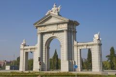 San Vicente gate. Madrid Stock Photos