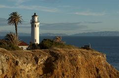 San Vicente Lighthouse Royalty-vrije Stock Afbeelding