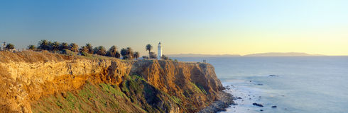 San Vicente Lighthouse Royalty Free Stock Photo