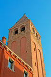 San Vidal bell tower Royalty Free Stock Photography