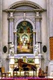 San Vidal Church Altarpiece Basilica Venice Italia Fotografie Stock