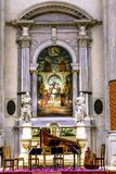 San Vidal Church Altarpiece Basilica Venice Italy Stock Photos