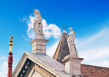 San Vidal statues Stock Photo