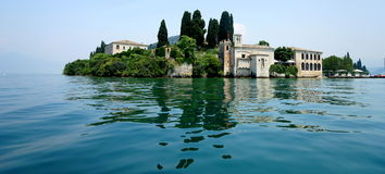 San Vigilio Lake Garda Photographie stock