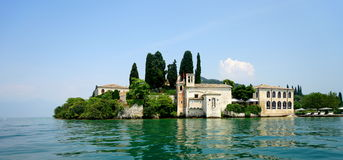 San Vigilio Lake Garda Photographie stock libre de droits
