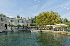 San Vigilio Lake Garda Stock Photo