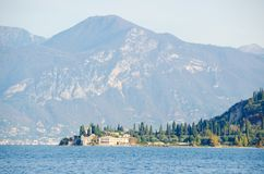 San Vigilio Point, Near Garda royalty free stock photography