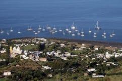 San Vincenzo , Stromboli , Aeolian islands Stock Photos