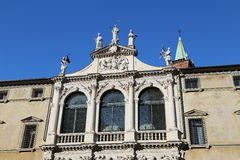 San vincenzo Church in the city of vicenza Stock Image