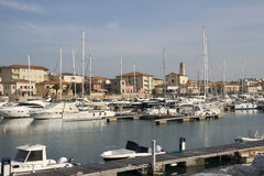 San Vincenzo harbor - Livorno, Tuscany Royalty Free Stock Images