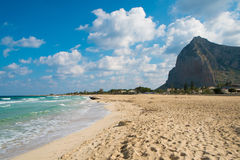 San Vito beach Stock Images