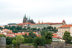 San Vito cathedral and castle, Prague, Czech Republic Royalty Free Stock Image