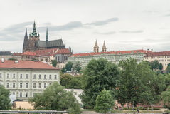 San Vito cathedral and castle, Prague, Czech Republic Royalty Free Stock Photos