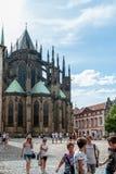 San Vito Cathedral, Praga, repubblica Ceca Fotografie Stock Libere da Diritti