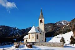 San Vito Church i Italien Arkivbild