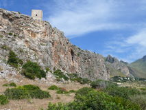 San Vito lo Capo. Near Lo zingaro Reservation, Sicily Stock Photos