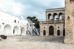San Vitos Abtei, Puglia Lizenzfreies Stockfoto