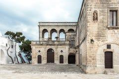 San Vitos Abtei, Puglia Stockbilder
