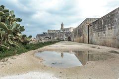 San Vitos Abtei, Puglia Lizenzfreie Stockfotografie