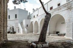 San Vitos Abtei, Puglia Lizenzfreie Stockbilder