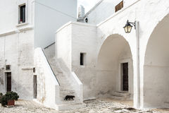 San Vitos Abtei, Puglia Stockbild