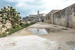San Vitos Abtei, Puglia Stockfotografie
