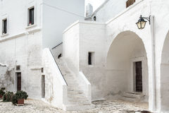 San Vitos Abtei, Puglia Stockfotos