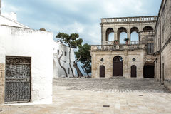San Vitos Abtei, Puglia Stockfoto