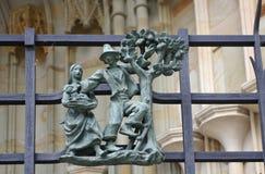 San Vitus Cathedral Immagini Stock