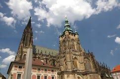 San Vitus Cathedral Fotografie Stock