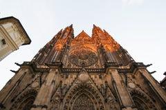 San Vitus Cathedral Fotografie Stock Libere da Diritti