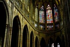 San Vitus Cathedral Fotografia Stock Libera da Diritti