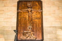 San Vitus Cathedral Cross Immagini Stock Libere da Diritti