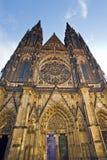 San Vitus Cathedral di Praga Fotografia Stock