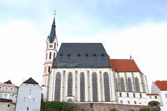 San Vitus Church Cesky Krumlov Fotografia Stock