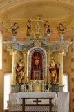 San Vitus fra la st Barbara e St Lucia Fotografia Stock