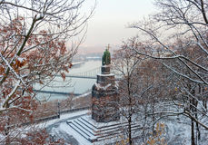 San Vladimir Monument a Kiev immagine stock libera da diritti