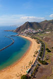 San Wioska i Las Plaża Andres Teresitas Fotografia Stock