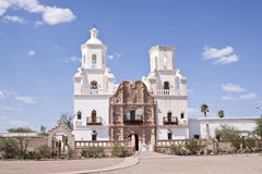 San Xavier del Bac Royalty Free Stock Photos