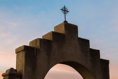 San Xavier Del Bac dans Tucson Arizona Photo stock
