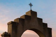 San Xavier Del Bac en Tucson Arizona Foto de archivo