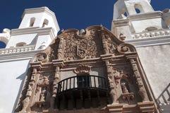 San Xavier del Bac la mission catholique espagnole Tucson Arizona Image libre de droits