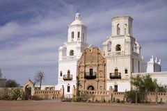 San Xavier Del Bac Mission Royalty Free Stock Photography