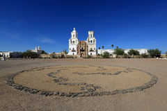 San Xavier del Bac Mission Royalty Free Stock Image