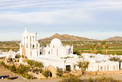 San Xavier del Bac Mission Stock Photography