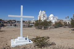 San Xavier del Bac Mission Lizenzfreie Stockfotografie
