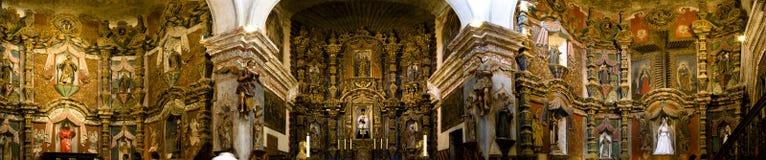 San Xavier del Bac mission church Royalty Free Stock Photos