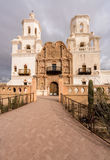 San Xavier del Bac Mission en dehors de Tucson Arizona images stock