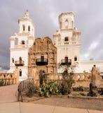 San Xavier del Bac Mission en dehors de Tucson Arizona Photographie stock