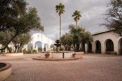 San Xavier del Bac Mission en dehors de Tucson Arizona Image libre de droits